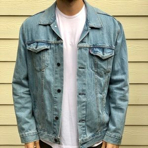 Men's XL Levi jean jacket